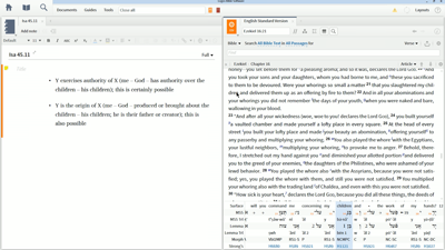 Construct Noun and Suffix: Interpretive Examples