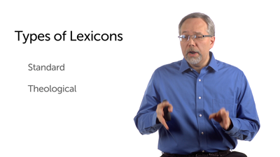 Types of Lexicons