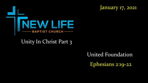 Unity In Christ Part 3