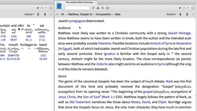 Historical Context of Matthew 5:1–3