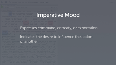Introducing the Imperative