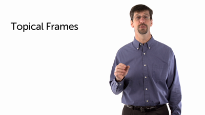 Topical Frames