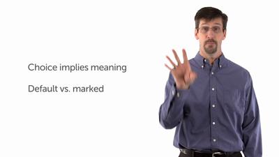 Principle 3: Semantic Meaning vs. Pragmatic Effect
