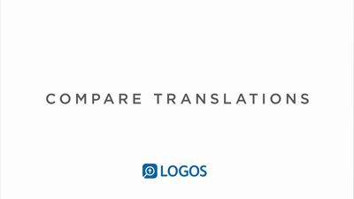 Step 3: Compare English Translations