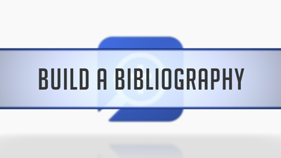 Building a Bibliography from Clippings