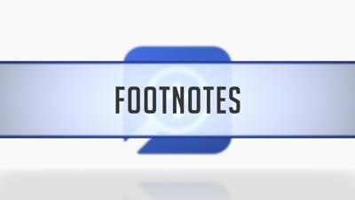 Footnotes in Citations