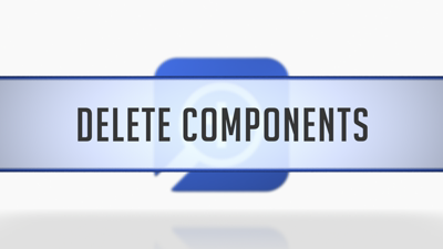 Deleting and Restoring Note Components