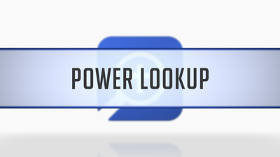 Context Menu Power Lookup