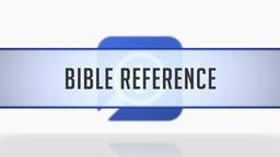Context Menu Bible Reference Lookups
