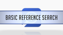 Basic Reference Search