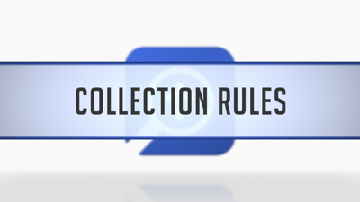 Collection Rules