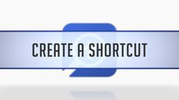 Creating Layout Shortcuts