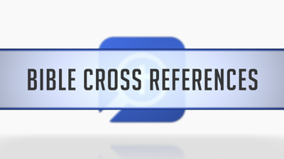 Using Bible Cross References