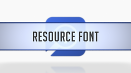 Setting the Resource Font