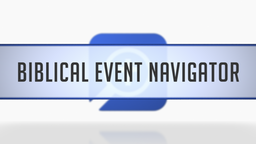 Biblical Event Navigator