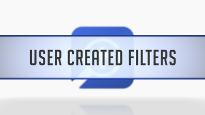 Timeline Filters Created by User