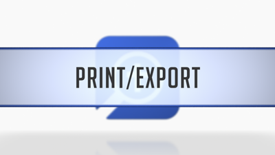 Printing/Exporting Maps
