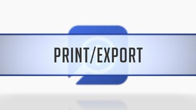 Printing/Exporting Maps