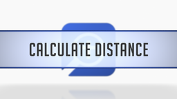 Calculating Distance