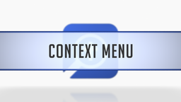Custom Guides on the Context Menu