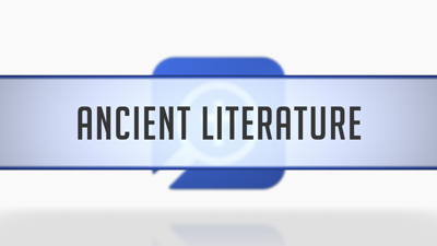 Ancient Literature in the Passage Guide