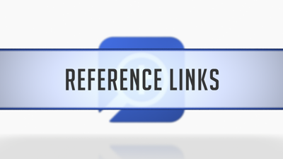 Reference Links