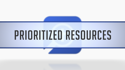 Prioritized Resources in Guides