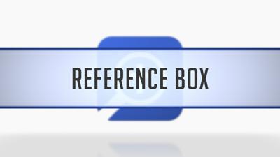 Reference Box