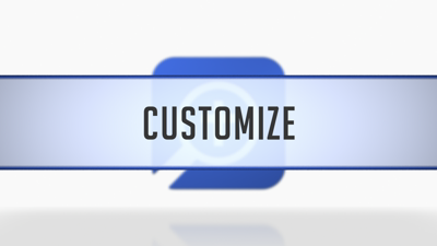 Customizing the Home Page