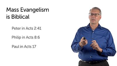 Evaluating Mass Evangelism