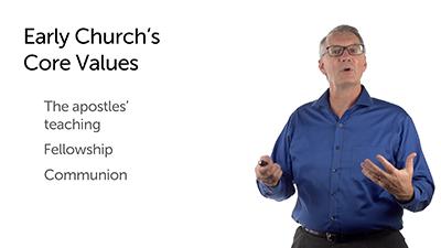 A Biblical List of Church Core Values