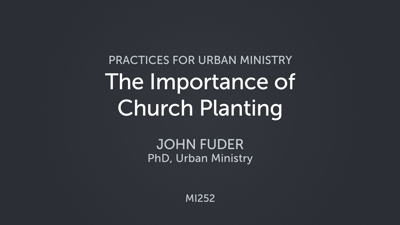 The Importance of Church Planting