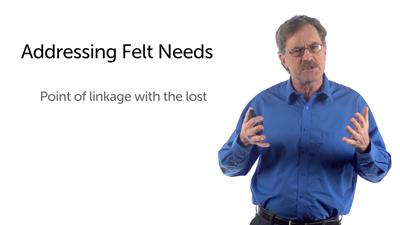 Addressing the Felt Need