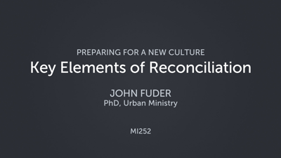 Key Elements of Reconciliation
