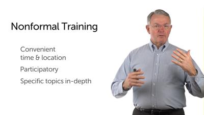 Three Types of Training