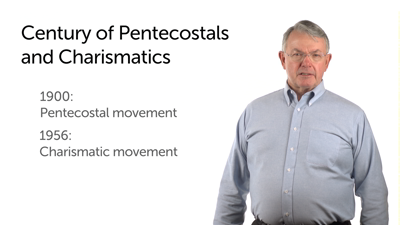 The Pentecostal/Charismatic Boom