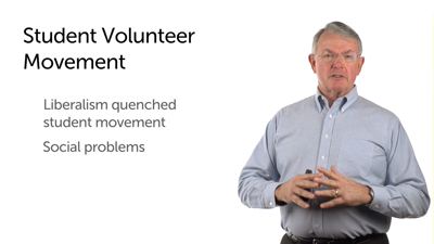 The Student Volunteer Movement