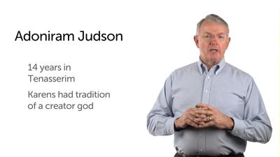 Adoniram Judson in Burma