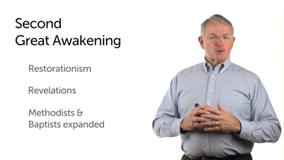 The Second Great Awakening in America