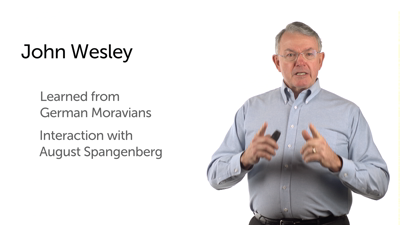 The Moravians' Influence on Wesley