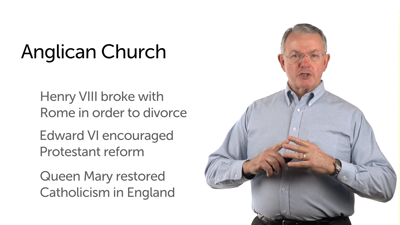The Reformation Comes to England