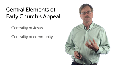 The Appeal of Early Christianity