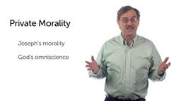 Joseph: A Model of Integrity