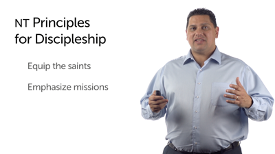 New Testament Principles for Church Discipleship Programming