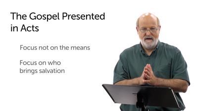 The Gospel Message