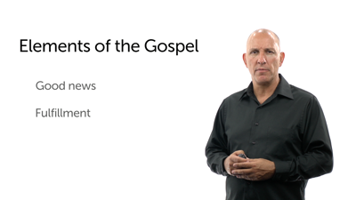 Starting with the Gospel