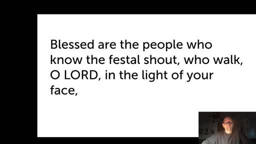 Wed. Jan 20, '21 Evening PPT Psalm 89