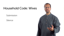 Advice for Christians in Natural Households: Wives