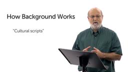 Understanding Backgrounds