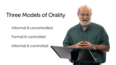 The Quality and Types of Orality
